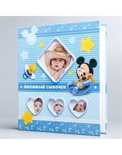 Фотоальбом на несколько окошек микки маус Disney