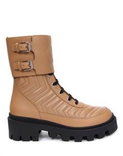 Ботинки кожаные Gucci
