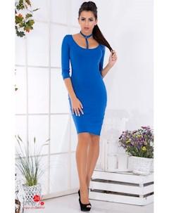 Платье цвет синий Podium