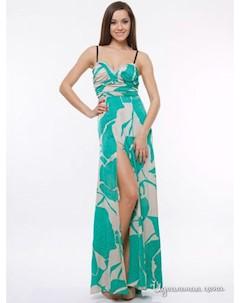 Платье цвет бирюзовый Foggi