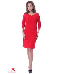 Платье цвет красный Gia-marie