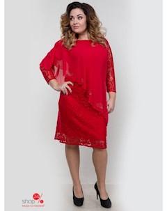 Платье цвет красный Royal fashion