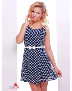 Платье цвет синий белый Boston