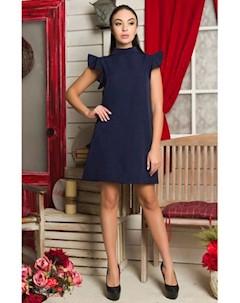 Платье цвет синий Flf