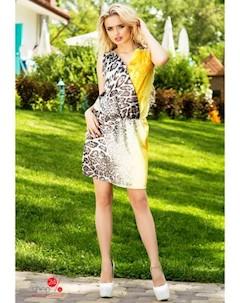 Платье цвет леопардовый Swirlbyswirl