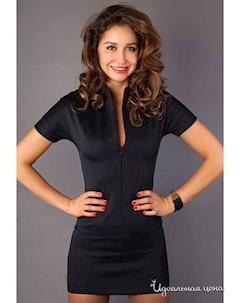 Платье цвет черный Fedel