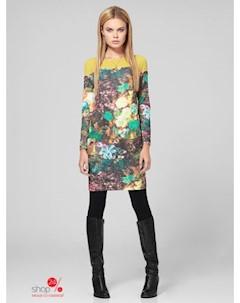 Платье цвет мультиколор Kiara