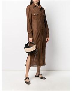 Платье рубашка с карманами Simonetta ravizza