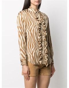 Рубашка An с оборками Simonetta ravizza