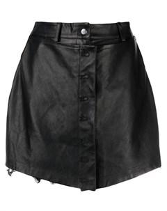 Юбка шорты с завышенной талией Almaz