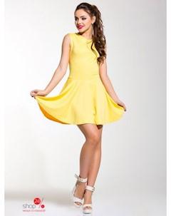 Платье цвет желтый Charm