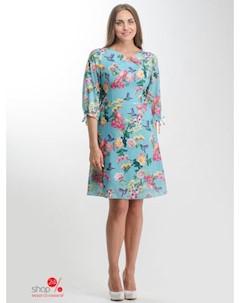 Платье цвет бирюзовый Nila