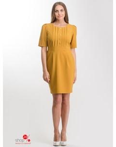 Платье цвет горчичный Nila