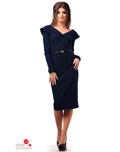 Платье цвет темно синий Euforia