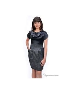 Платье цвет черный Petti dress