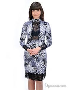 Платье цвет серый Petti dress