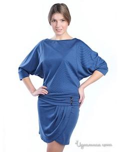 Платье цвет голубой Petti dress