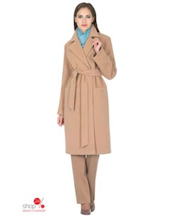 Пальто цвет светло коричневый Синар