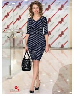 Платье цвет темно синий Volvis style