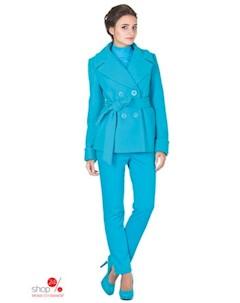 Полупальто цвет голубой Синар
