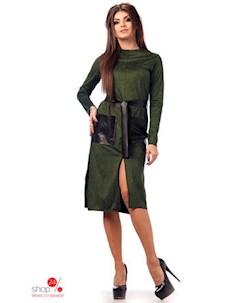 Платье цвет зеленый Euforia