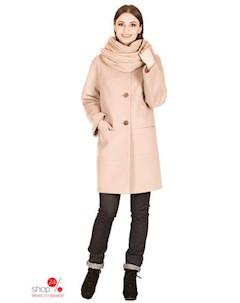 Пальто цвет светло серый Синар