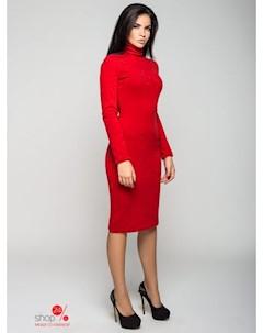Платье цвет красный Leo pride