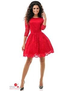 Платье цвет красный Wanted
