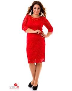 Платье цвет красный Euforia