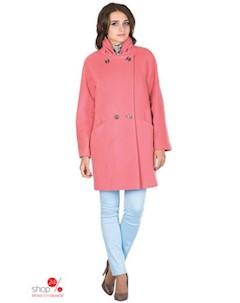 Пальто цвет коралловый Синар
