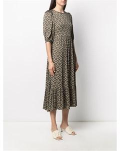 Платье Bea с геометричным принтом Simonetta ravizza