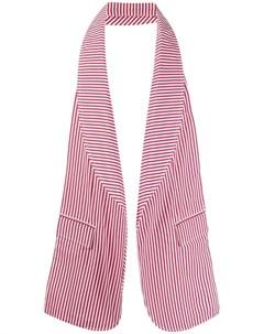 Шарф с лацканами Comme des garçons shirt