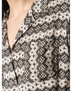 Рубашка Betty с геометричным принтом Simonetta ravizza