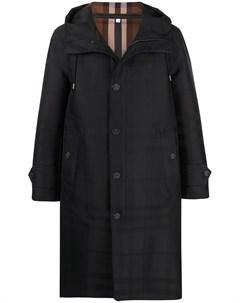 Пальто Globe в клетку Burberry
