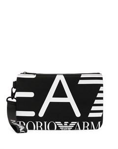 Клатч с логотипом Ea7 emporio armani