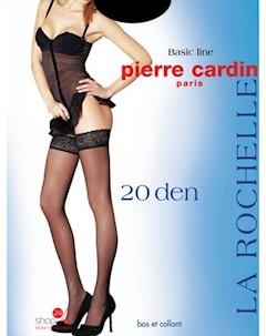 Чулки 2 пары 20 den цвет черный Pierre cardin