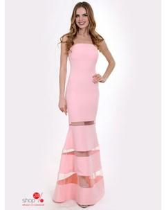 Платье цвет персиковый Enigma