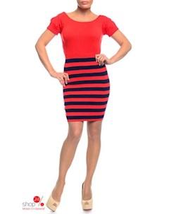 Платье цвет оранжевый Laura lombardi