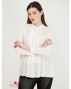 Блуза цвет белый Mango