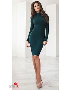 Платье цвет темно зеленый Oh my look