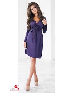 Платье цвет фиолетовый Oh my look