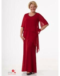 Платье цвет красный Simas