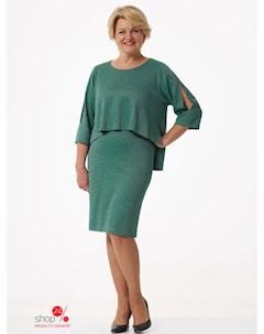 Платье цвет зеленый Simas