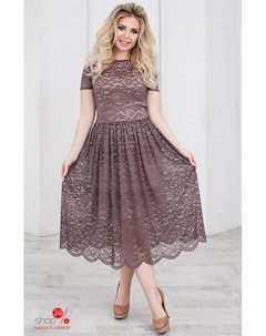 Платье цвет коричневый Oh my look