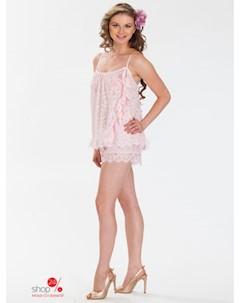 Пижама цвет розовый Balancelle