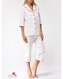 Пижама цвет белый Evateks