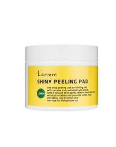 Пилинг диски для лица с экстрактом лимона Lemon Shiny Peeling Pad 70 шт Larvore