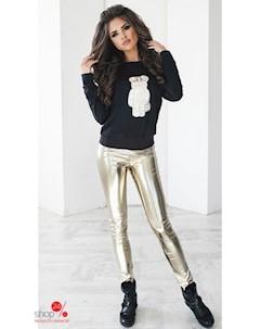 Костюм свитшот брюки цвет золотой Oh my look