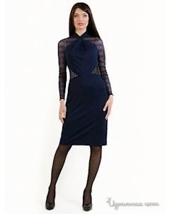 Платье цвет темно синий Daloria