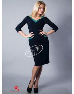 Платье цвет темно синий V & v
